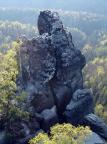 Hinteres Pechofenhorn, Gipfel in den Bärenfangwänden