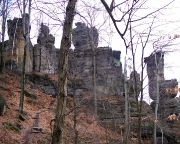 Klettergipfel Doppeltürmchern, Obere und Untere Winterbergspitze