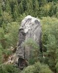 Gansscheibe, aufgenommen vom Gipfel des Plattensteins