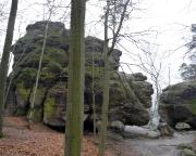 Hohler Turm am Kuhstall - zumindest ein Teil davon mit Neuem Weg