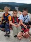 Rabentürmchen, Johanna, Frederik, Max auf dem idealen Kindergipfel