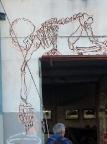 Geocaching in einer verlassenen plastikverarbeitenden Fabrik in Dresden