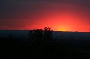21 - Sonnenuntergang, aufgenommen am 10.08.2018 von der Festung Königstein