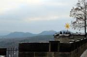 26 - Blick von der Festung Königstein auf Papst und Gohrisch am 3. Advent 2018