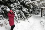 27 - Jagd auf Winter-Fotomotive bei einer Wanderung im Khaatal, Böhmische Schweiz
