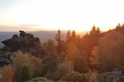 43 - Sonnenaufgang über dem Isergebirge, aufgenommen an der Töpferbaude
