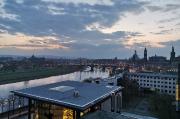 45 - Morgenstimmung über der Altstadt von Dresden