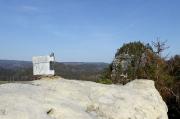 77 - Gipfelbuch auf dem Rabentürmchen vor dem Kleinen Lorenzstein
