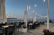 88 – Abendstimmung im September am Strand von Sopot