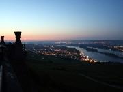 8 - Morgenstimmung am Niederwalddenkmal mit Blick auf Rüdesheim