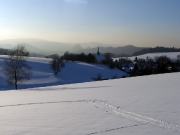 5 - Wintersport bei Hinterhersmdorf im verschneiten Elbsandsteingebirgequackensturm