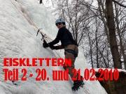 Intro des Berichtes über die zweite Eisklettertour 2010