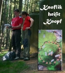 Knoflik heißt Knopf, Geocaching mit Wiese und Christiane in Tschechien