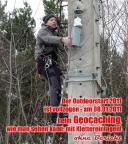 Outdoor-Auftakt mit Geocaching