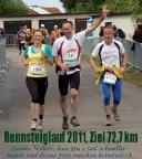 Rennsteiglauf 2011, mit Christiane Selle wieder beim Supermarathon