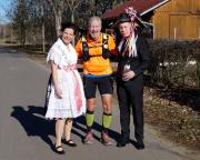 Fotopunkt beim 6. Ludwig-Leichhardt-Trail Ultralauf in Byhleguhre