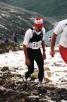 Swiss Alpine Marathon 1991, im Aufstieg zum Sertigpass in 2794 m Höhe