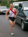 Staffellauf Zielona Gora - Cottbus, Juli 2008, 103 km im 5er-Team