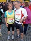 Rennsteiglauf 2011, Christiane kann es auch dieses Jahr nicht lassen