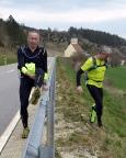 JUNUT, Jurasteig-Nonstop-Ultratrail 2016, km 151 bei Hohenburg
