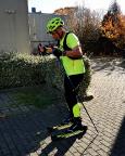 Rollski als Ausgleichsportart zum Laufen - die Jungfernfahrt auf meinem Marwe-Ski