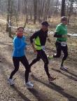 Teammarathon 2014 in Brandenburg - Christiane Selle begleitet das Team