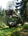 Böhmische Dianawand – Klettergipfel im Gebiet Weißbachtal bei Lückendorf