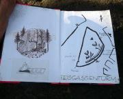 Gipfelbuch des Eisengassenturms