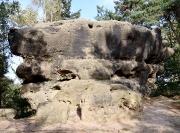 Krokodil – Felsgebilde und Quacke nahe der Nonnenfelsen