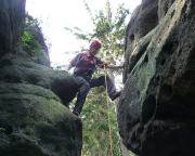 Leipaer Turm - Quacke, inzwischen als Klettergipfel anerkannt