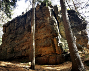 Liebesturm, Quacke bei Oybin unterhalb des Pferdeberges