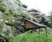 Weißer Stein – Quacke in den Mühlsteinbrüchen von Jonsdorf