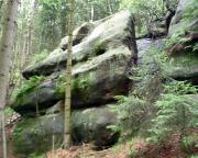 Wurzelbrüderturm - Quacke am Töpfer bei Oybin
