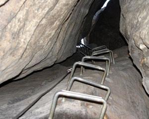 Klettersteig Sächsische Schweiz : Die häntzschelstiege klettersteig in den affensteinen