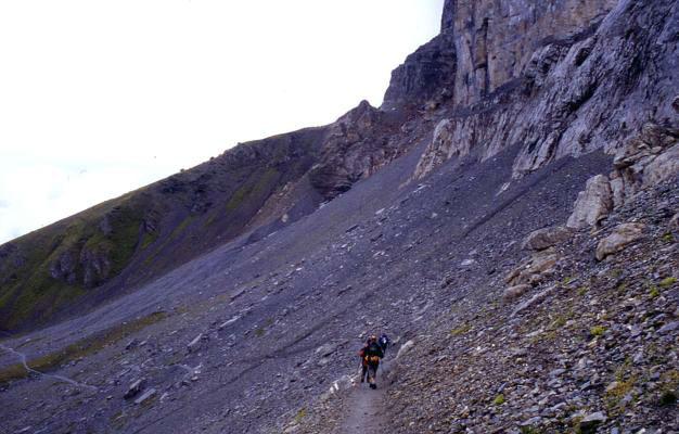 Klettersteig Rotstock : Rotstock klettersteig zustieg in richtung eiger nodwand