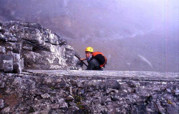 Klettersteig Rotstock : Auf dem rotstock klettersteig schnell gewinnt man an höhe