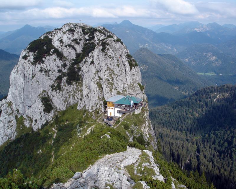 Klettersteig Buchstein : Buchstein normalweg auf den hausberg der tegernseer hütte