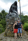 WiBoLT an der Loreley Statue